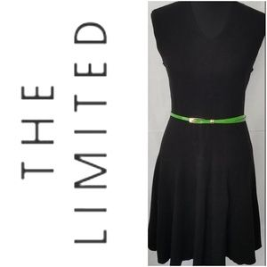 The Limited Fit-and-Flare V-neck Sleeveless Dress